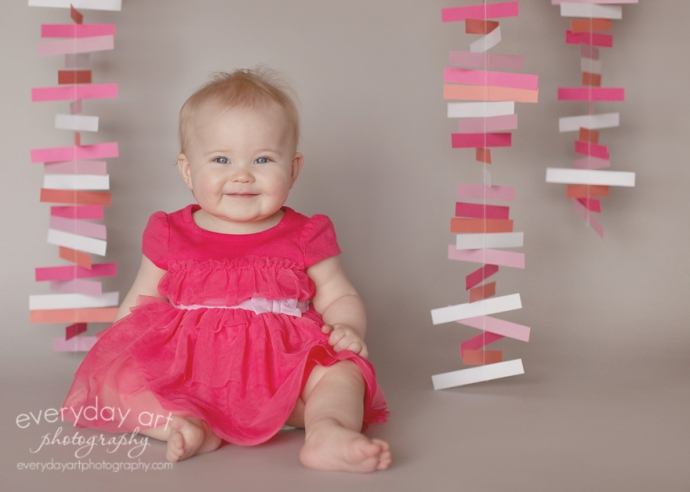 baby pink dress party photo