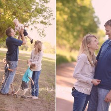 outdoor family picture
