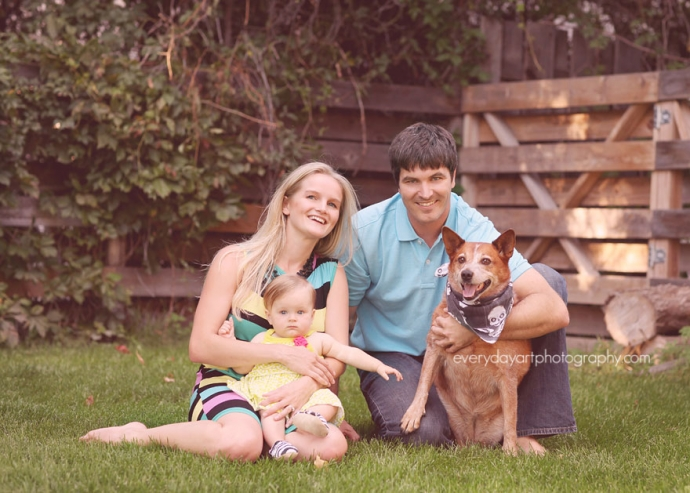family photographer in bismarck, nd