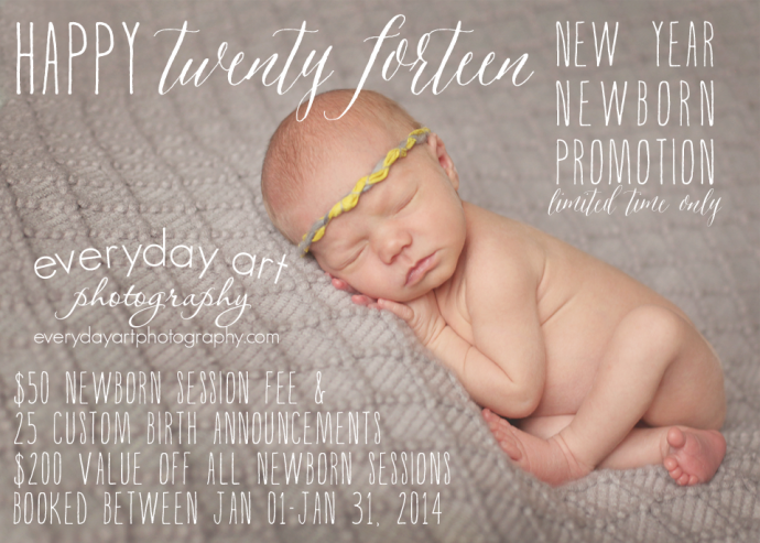 Bismarck Mandan North Dakota newborn baby photography special promotion