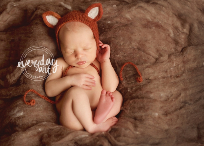 newborn photography in bismarck, nd