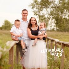 family photography in bismarck, north dakota