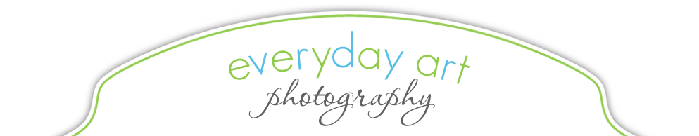 Bismarck newborn photographer | Bismarck child & family photographer | Everyday Art Photography logo